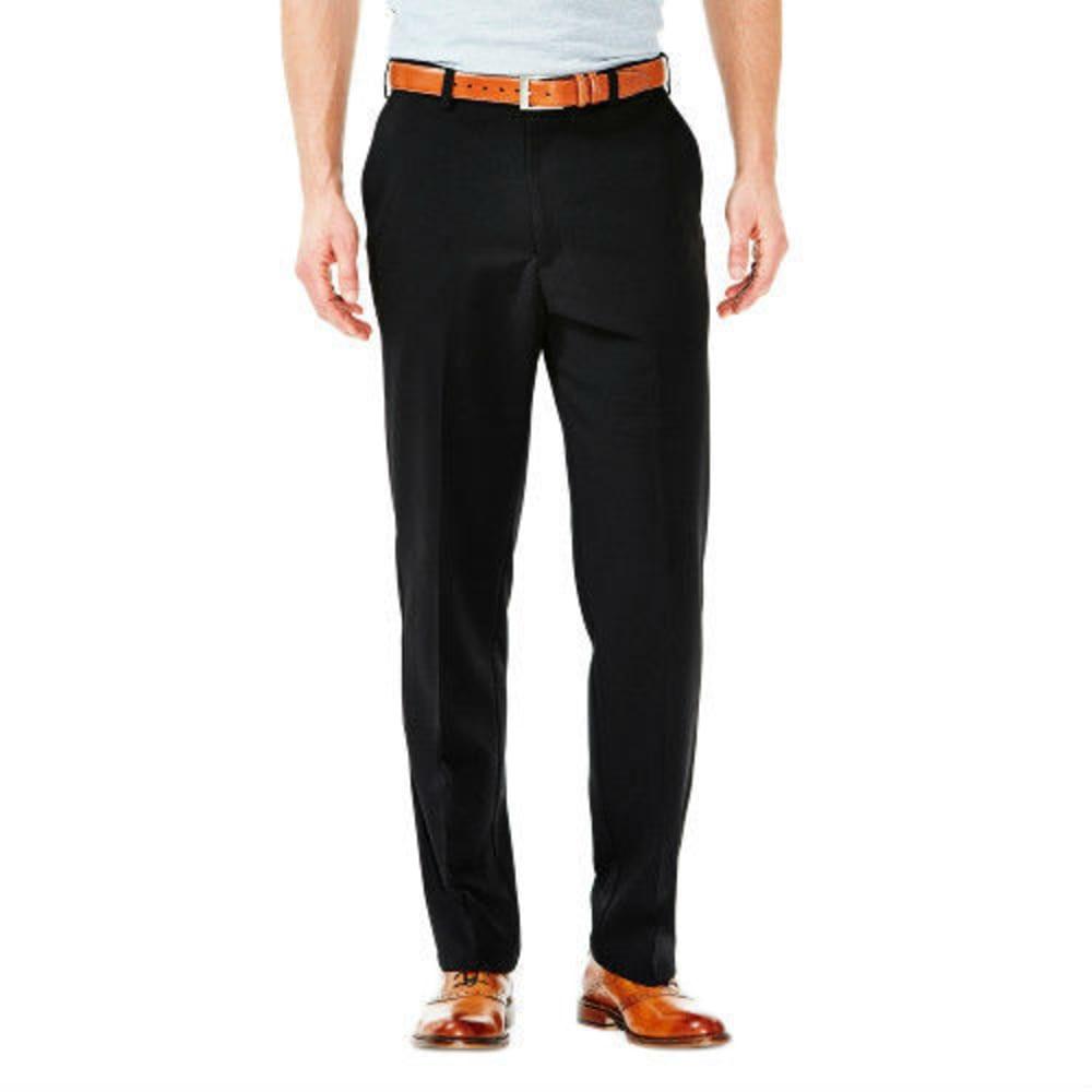 HAGGAR Cool 18 Flat Front Pants 32/32