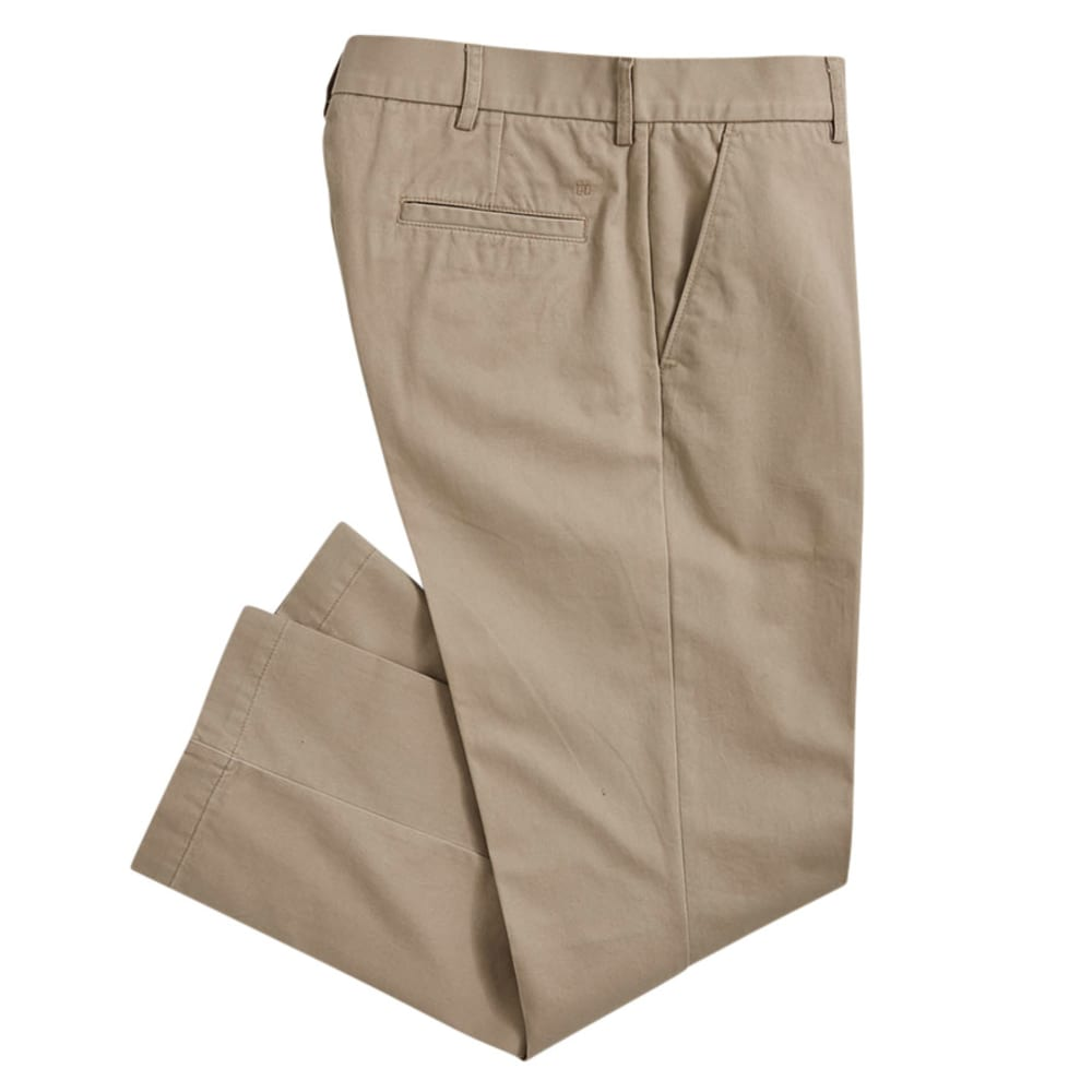 HAGGAR Men's Standard Fit Flat Front Pants - STRING