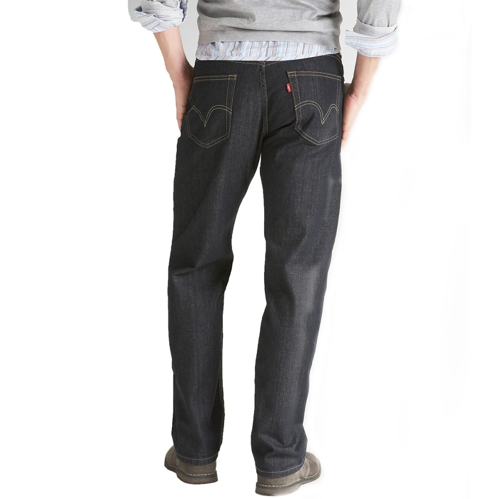 LEVI'S Men's 559 Relaxed Straight Jeans - TUMBLED RIGID 4010