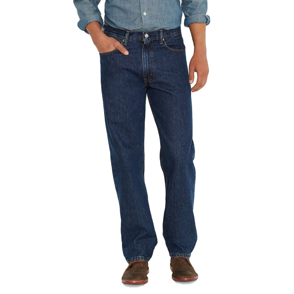 LEVI'S Men's 550 Relaxed Fit Jeans - DARK STONEWASH 4886