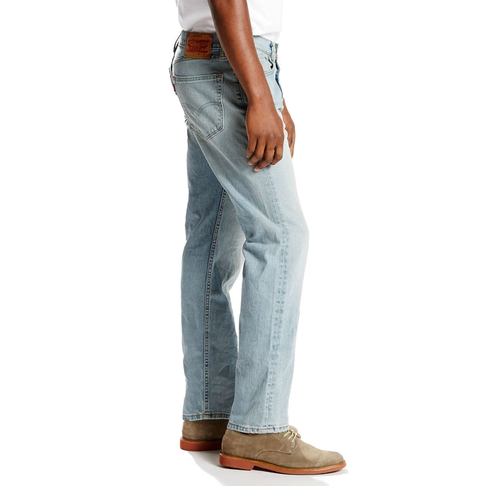 LEVI'S Men's 505 Regular Fit Jeans - GOLDENTOP 1373