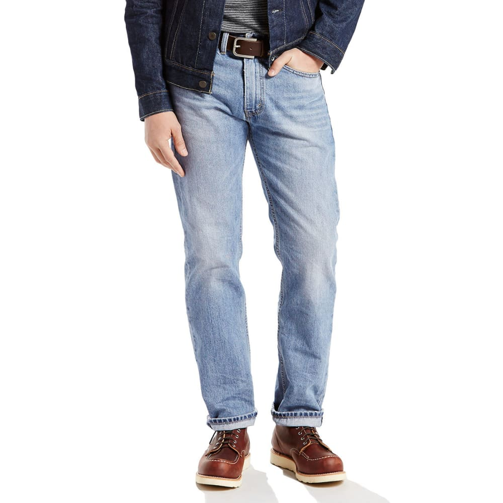 LEVI'S Men's 505 Regular Fit Jeans - KALSOMINE 1277