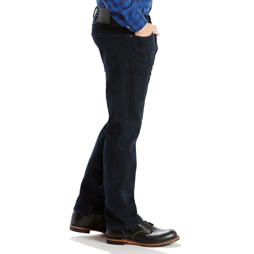 LEVI'S Men's 505 Regular Fit Jeans - HUNTERS MOON 1432