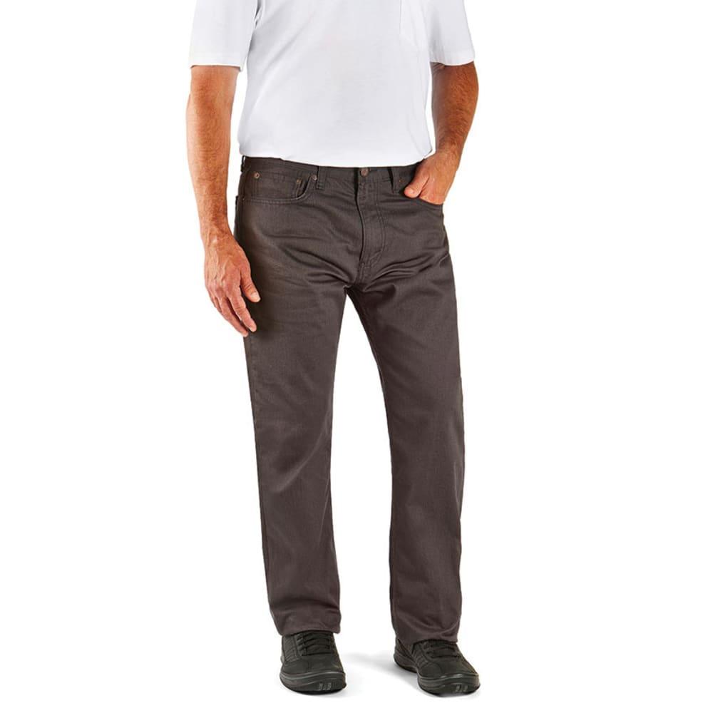LEVI'S Men's 505 Regular Fit Slub Twill Pants 30/30