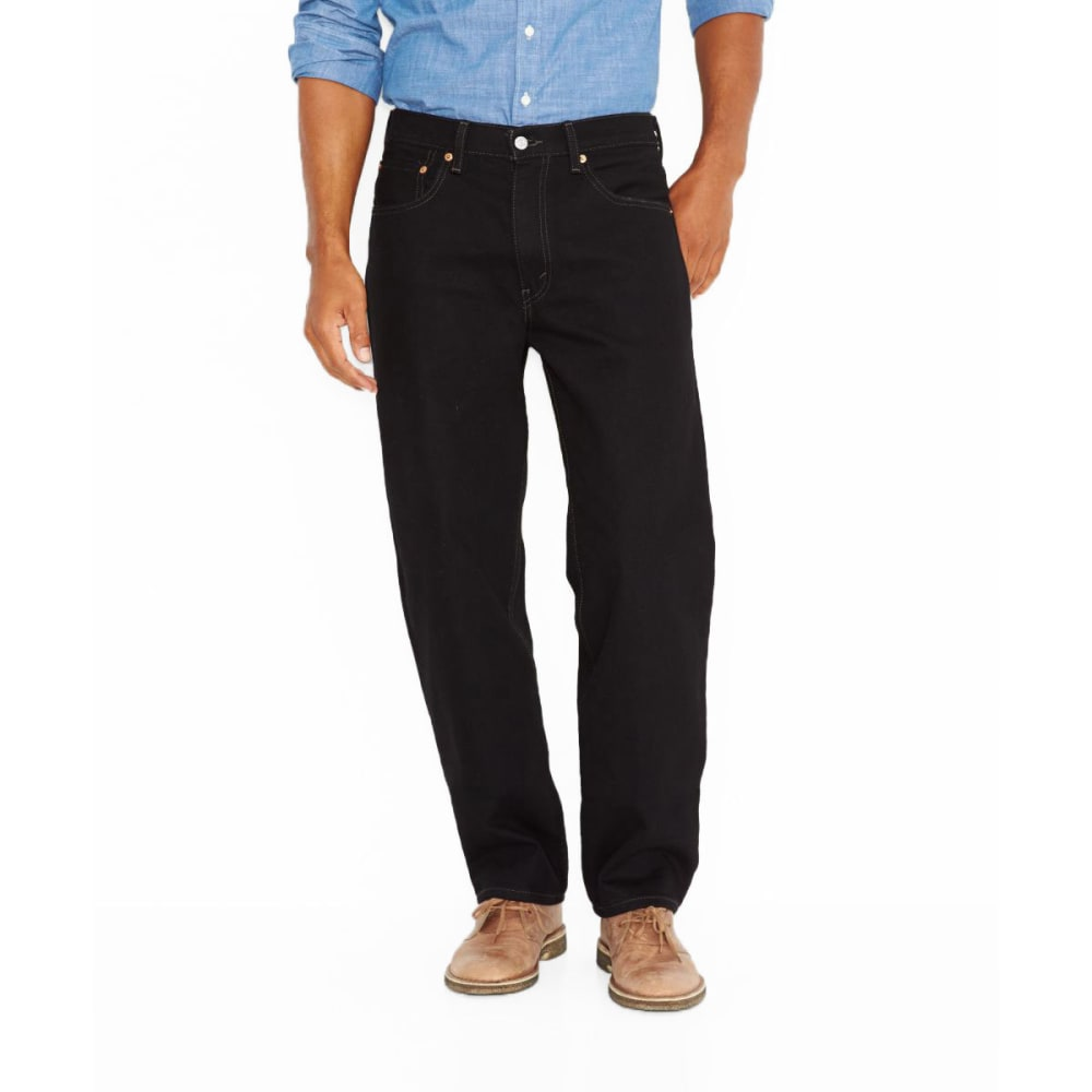 LEVI'S 550 Relaxed Fit Jeans, Extended Sizes - BLACK