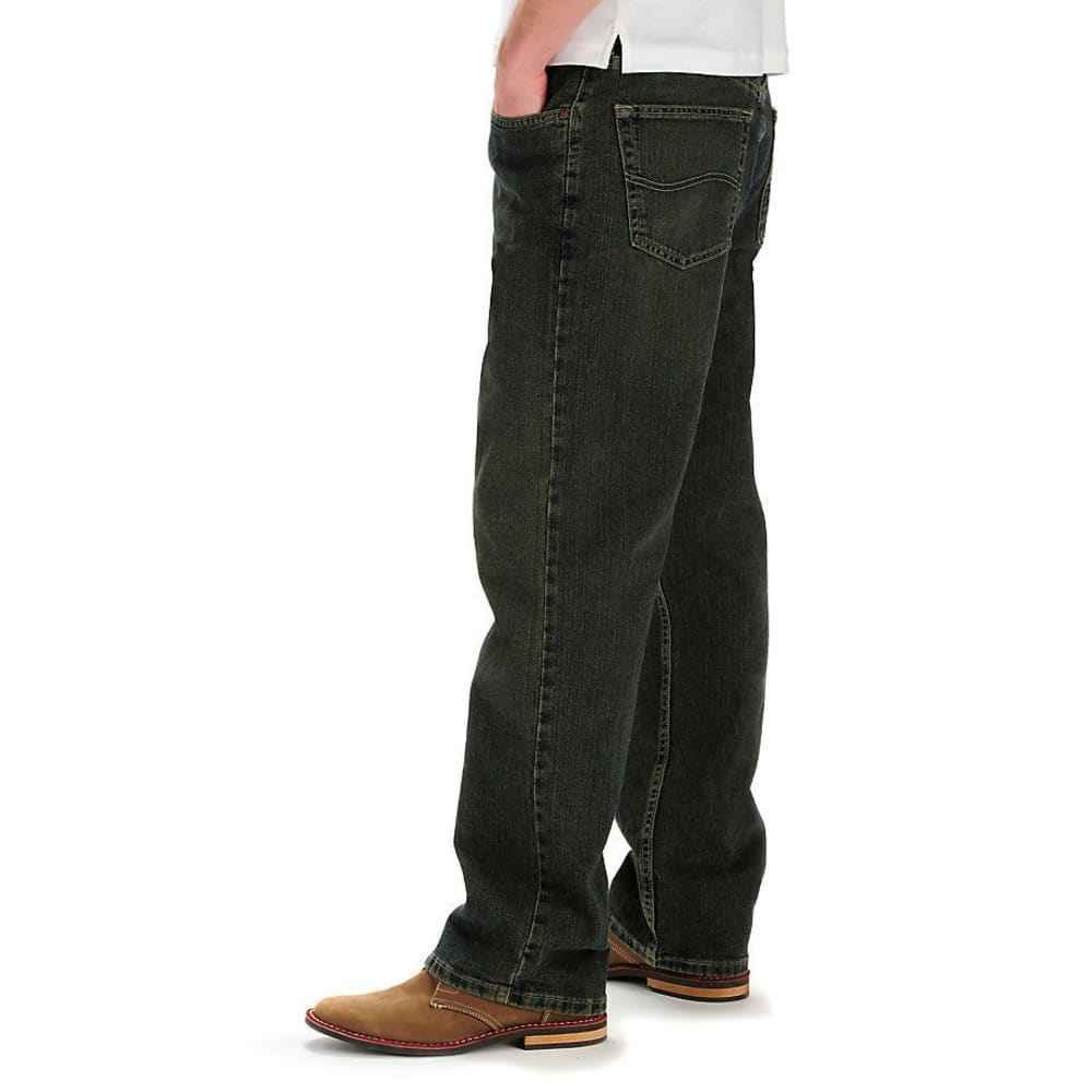 LEE Premium Select Relaxed Straight Leg Jeans - SANDED BRONZE