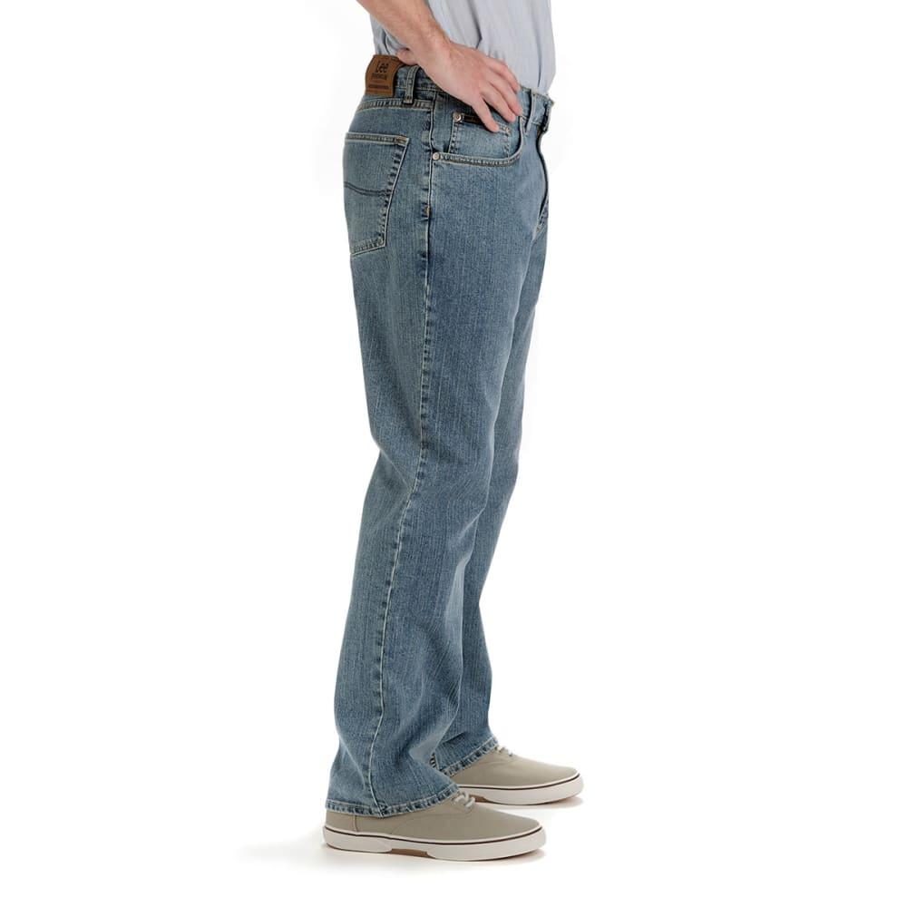 LEE JEANS Men's Premium Relaxed Straight Leg Jeans - HAZE 200-6556