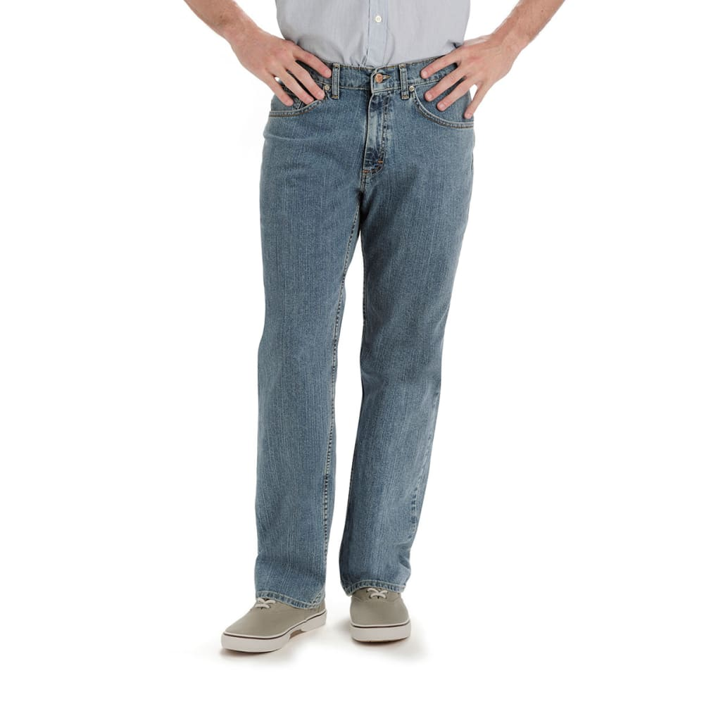 LEE JEANS Men's Premium Relaxed Straight Leg Jeans - HAZE 200-6556