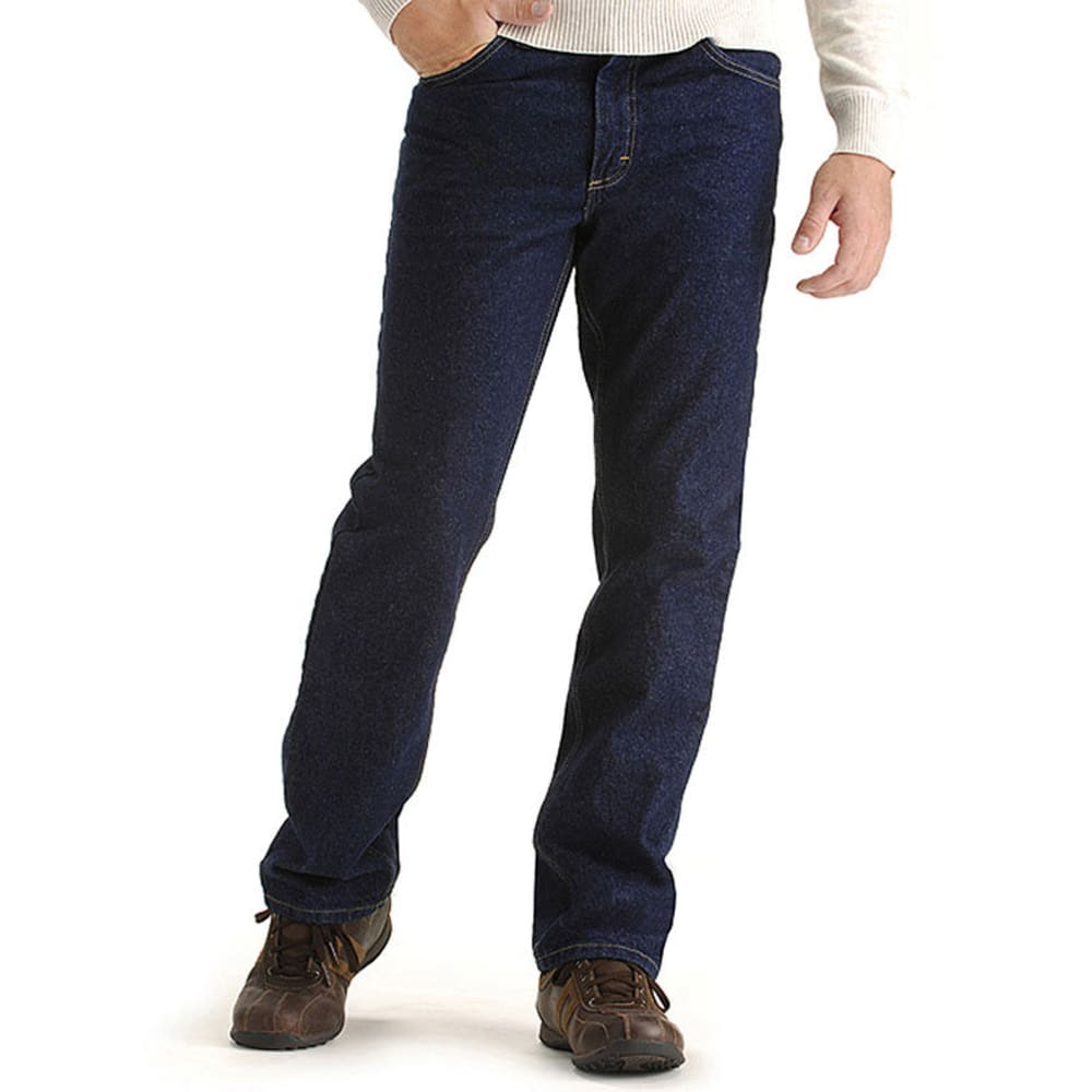 LEE Men's Regular Fit Straight Leg Jeans - PEPPER STONE 8944