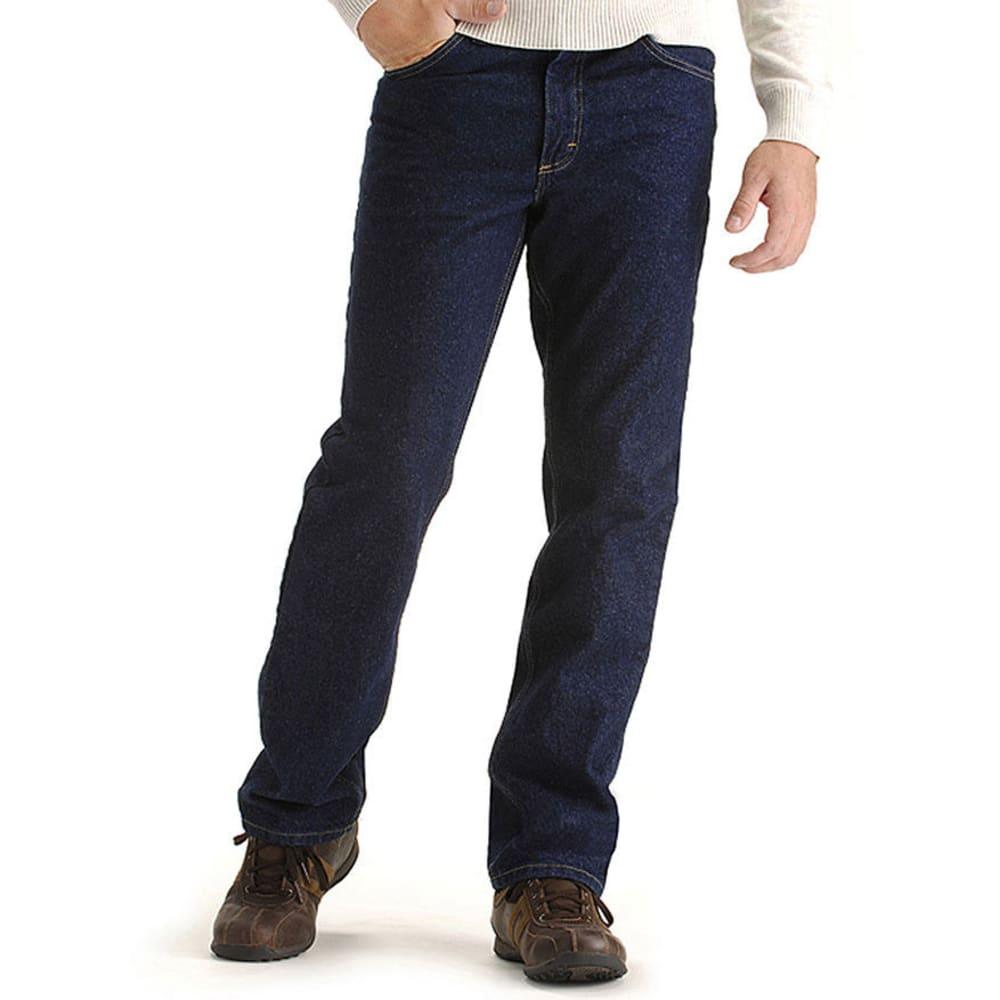 LEE Men's Regular Fit Straight Leg Jeans - PEPPER STONE 8944