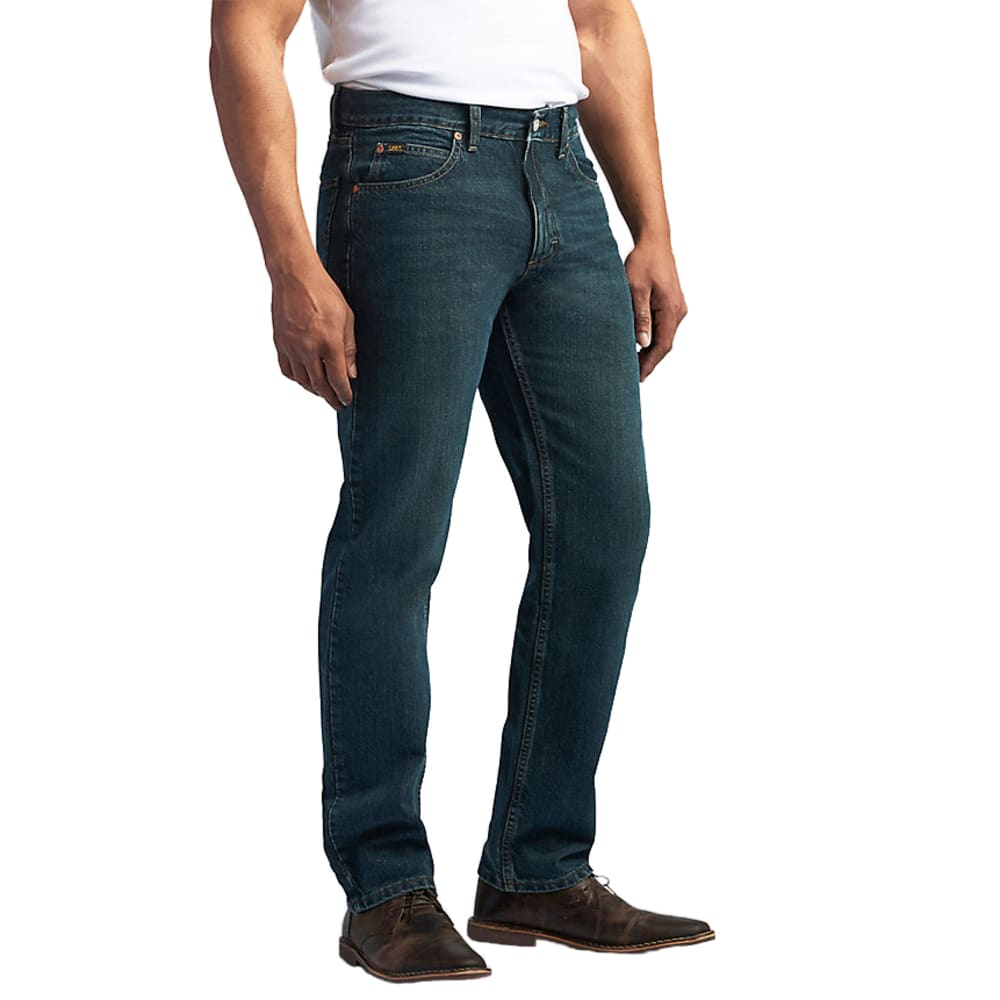 LEE Men's Regular Fit Straight Leg Jeans 30/30