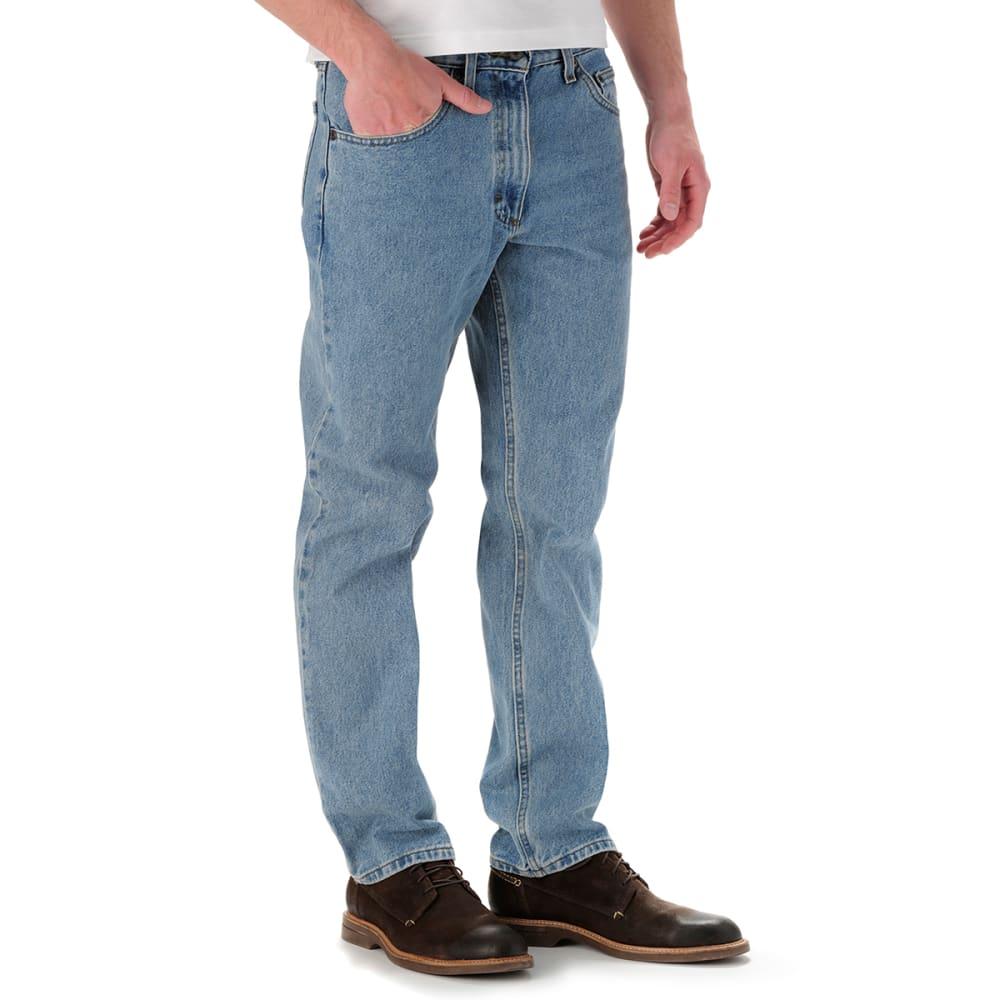 LEE Men's Regular Fit Straight Leg Jeans - LIGHT STONE 8916