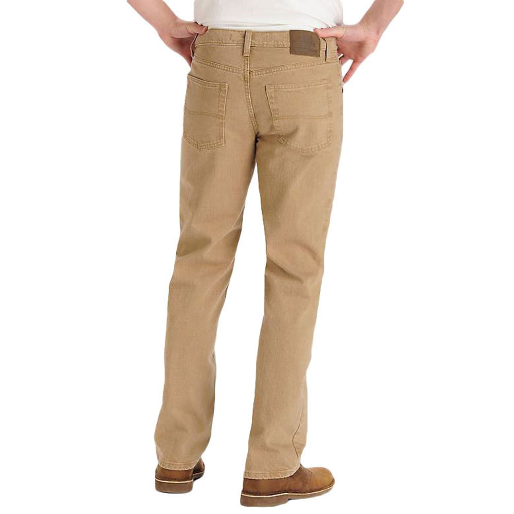 LEE Men's Premium Classic Straight-Leg Jeans - SADDLE