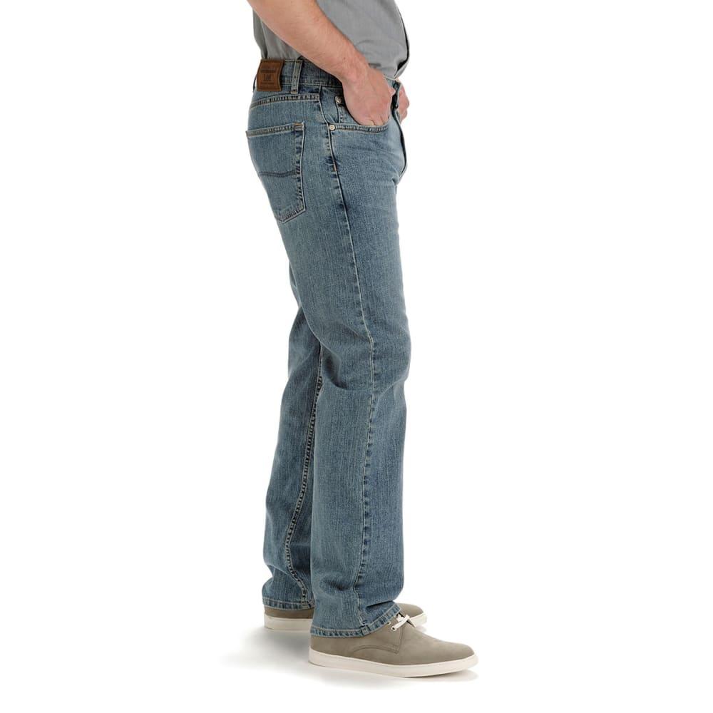 LEE Men's Premium Select Regular Fit Jeans, Phantom - PHANTOM 2001945