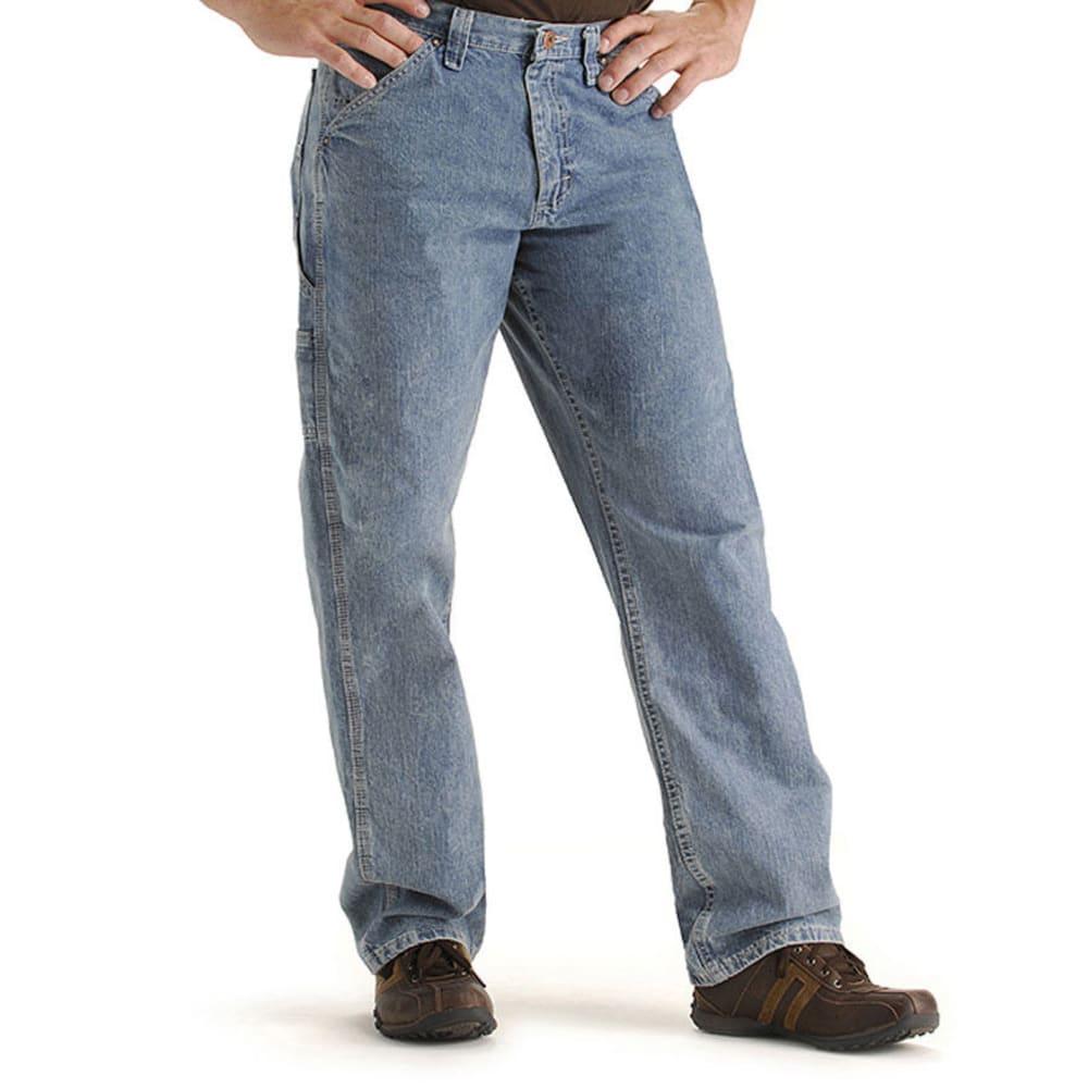 LEEMen's Carpenter Jeans, Extended sizes - MEDIUM BLUE