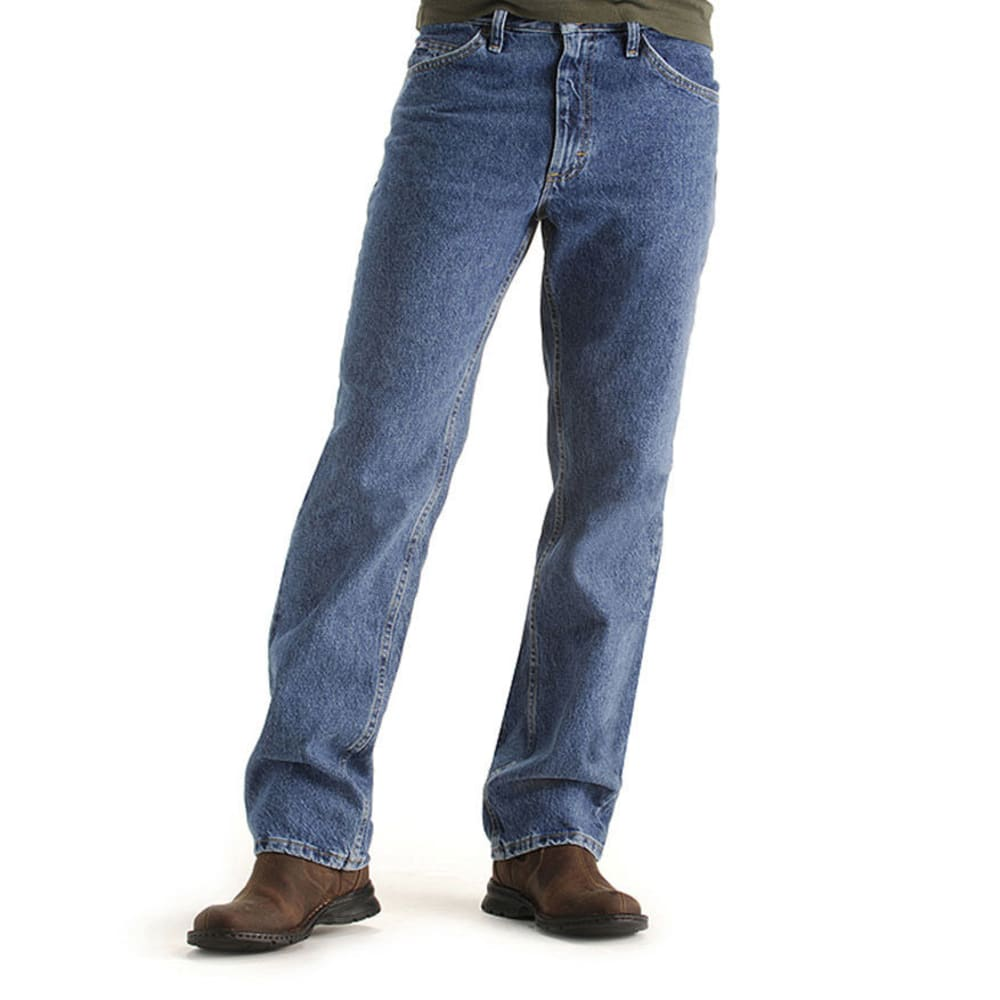 LEE Men's Regular Fit Jeans, Extended sizes - PEPPERWASH