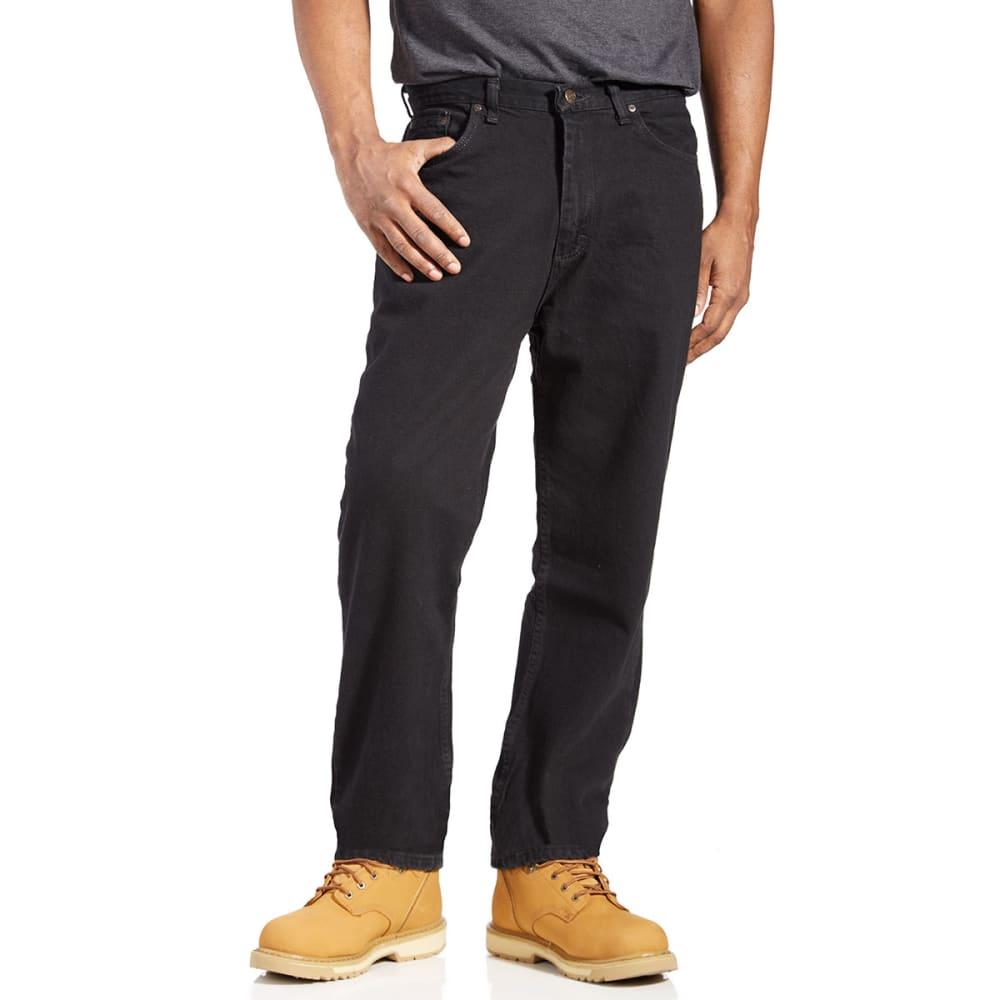 BCC Men's Relaxed Fit Jeans - BLACK BK