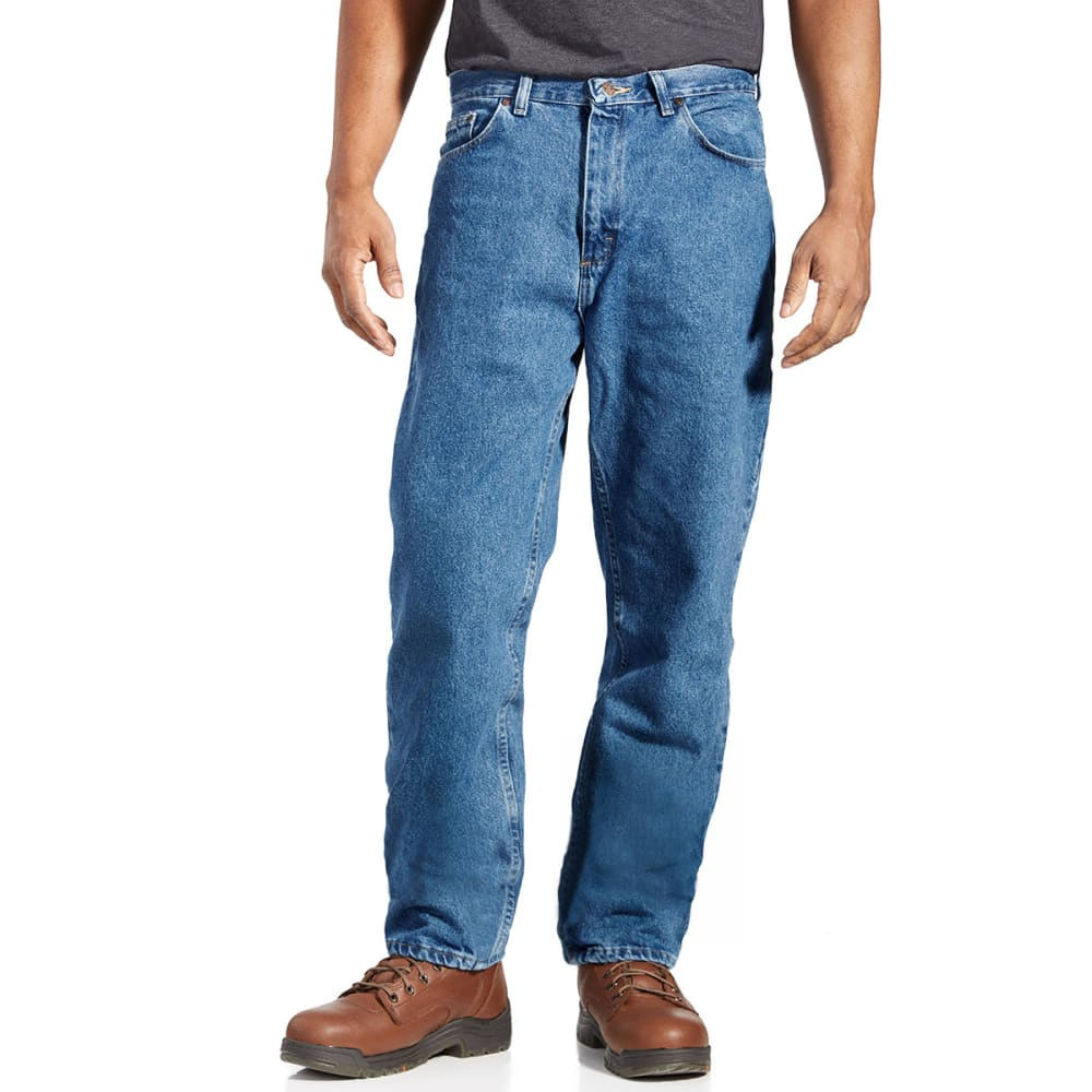 BCC Men's Relaxed Fit Jeans  - STONEWASH -AS