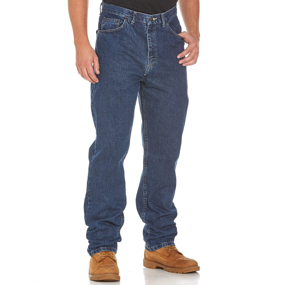 BCC Men's Relaxed Fit Jeans  - DARKENED INDIGO-DI