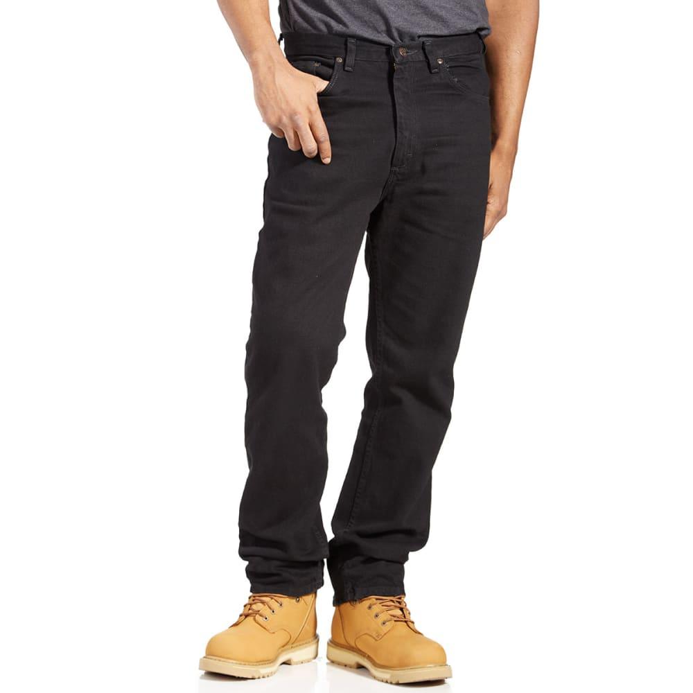 BCC Men's Regular Fit Jeans - BLACK