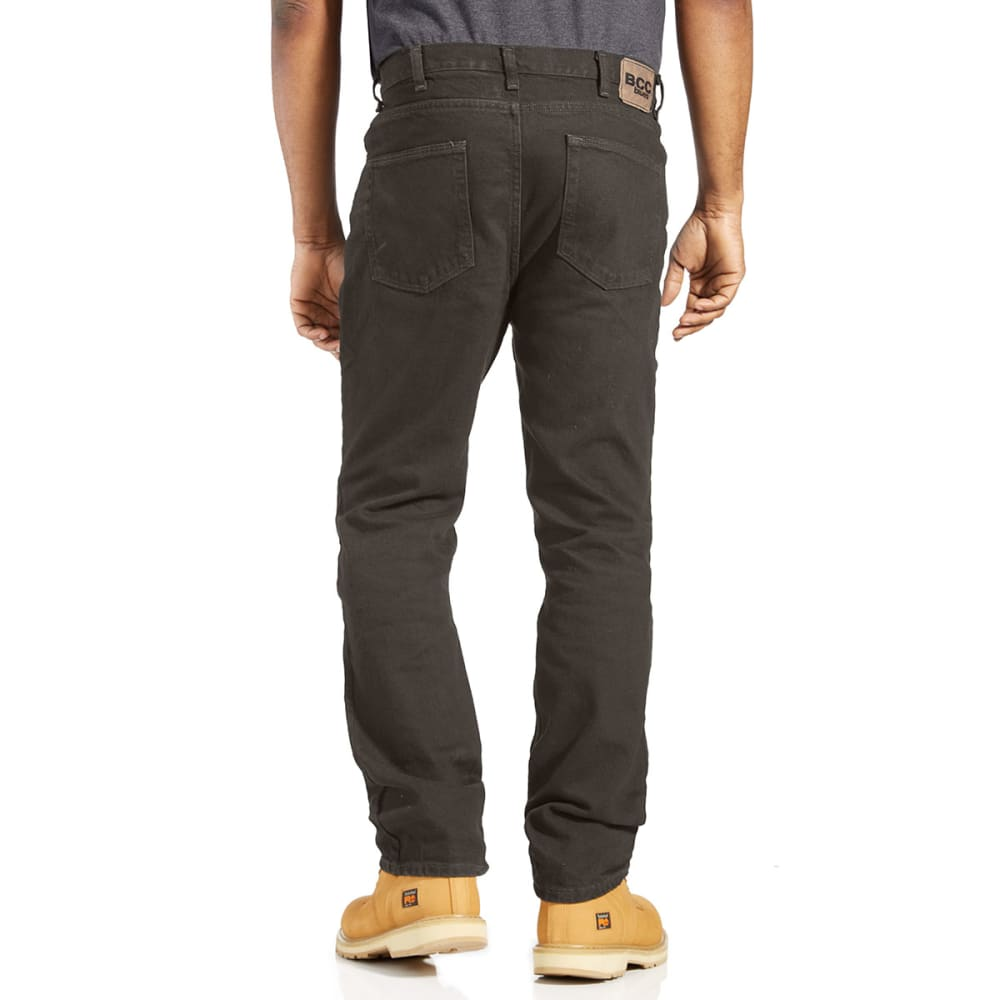 BCC Men's Regular Fit Jeans - OLIVE - OL