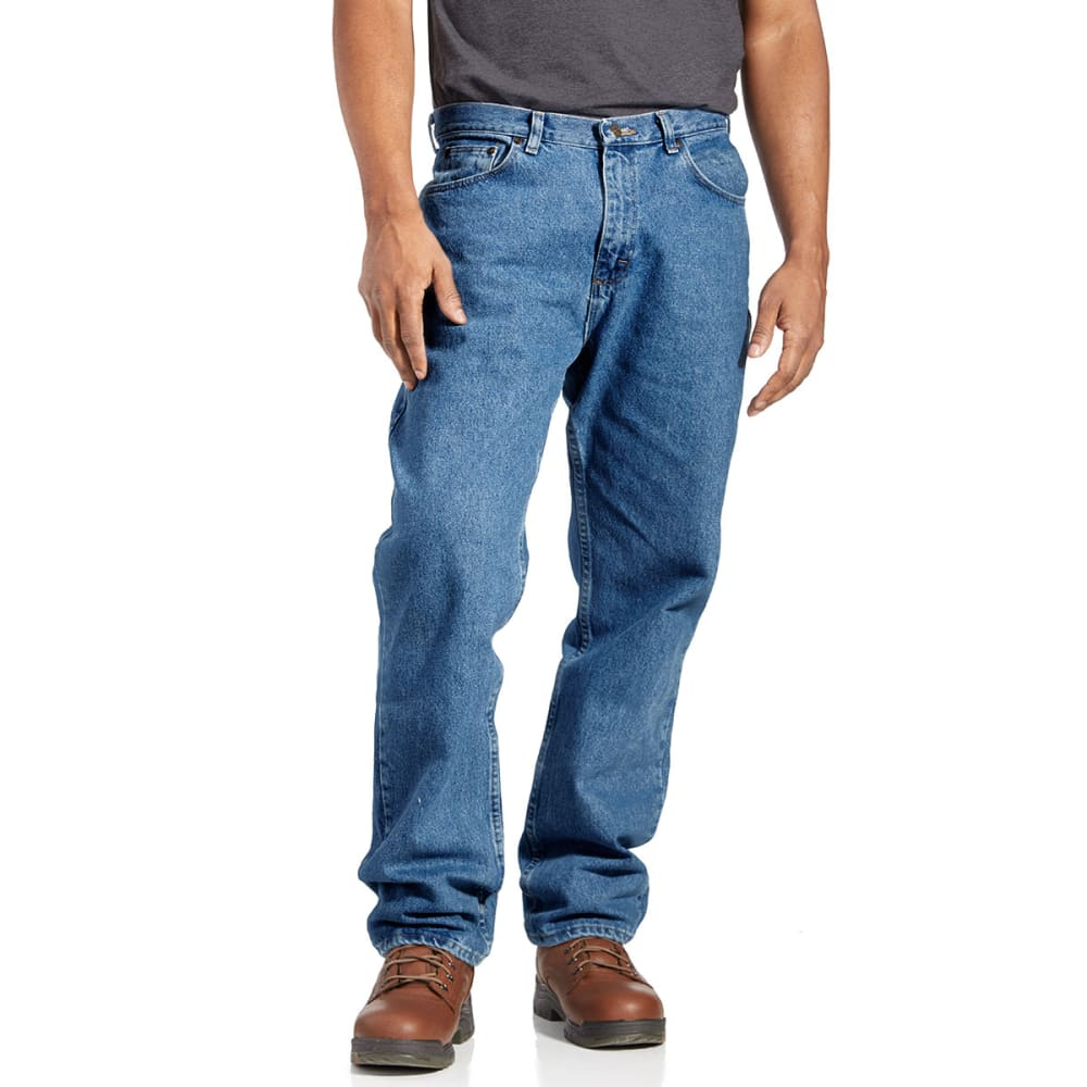 Bcc Men's Regular Fit Jeans - Blue, 34/29