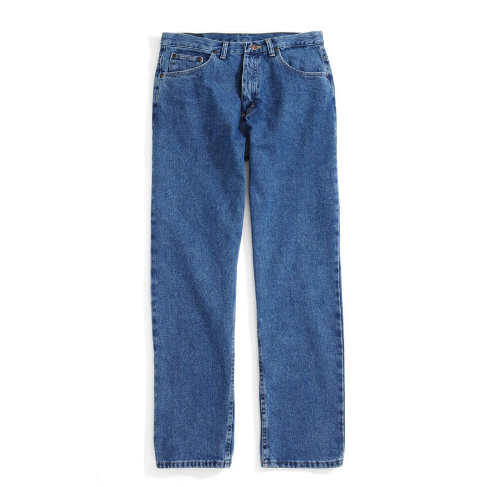 BCC Men's Loose Fit Jeans, Extended Sizes - STONEWASH