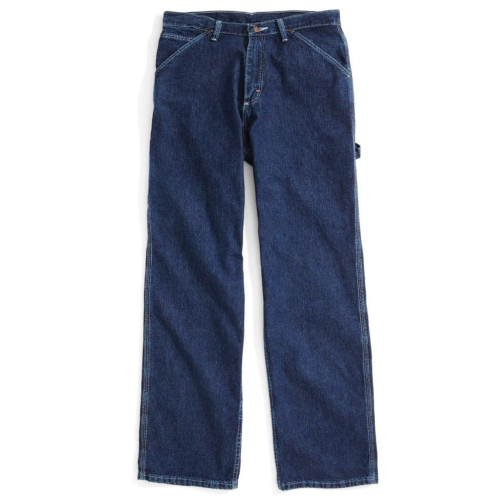 BCC Men's Carpenter Jeans, Extended Sizes - CHAMBRAY