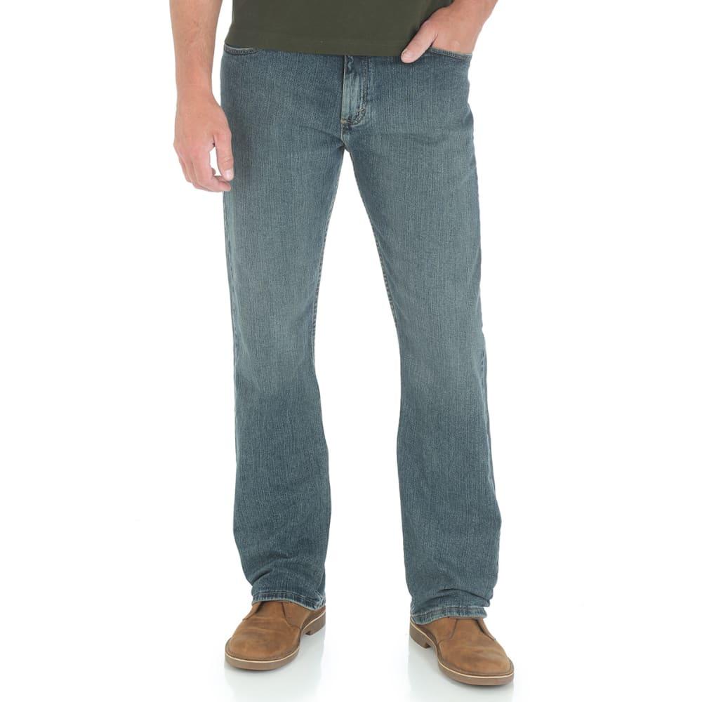 GENUINE WRANGLER Men's Advanced Comfort Straight Fit Jeans 30/30
