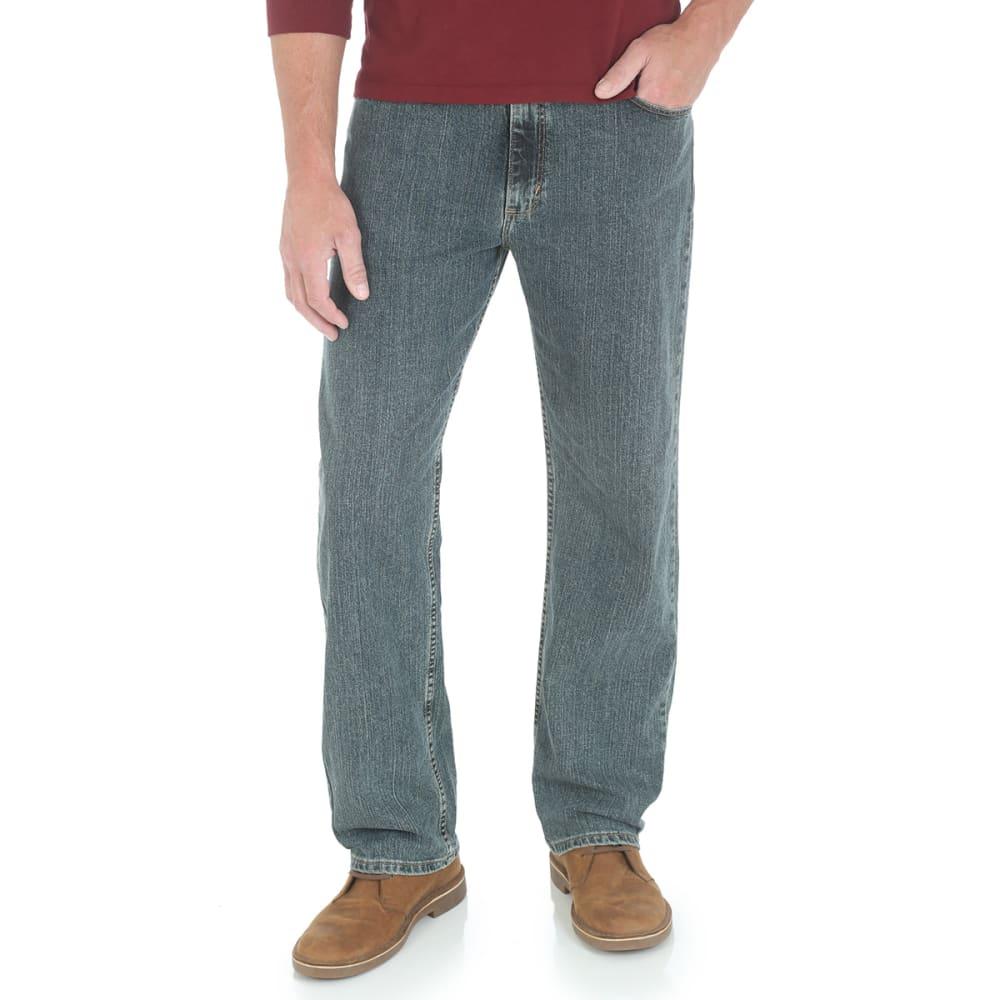 Genuine Wrangler Men's Advanced Comfort Relaxed Fit Jeans - Black, 30/30