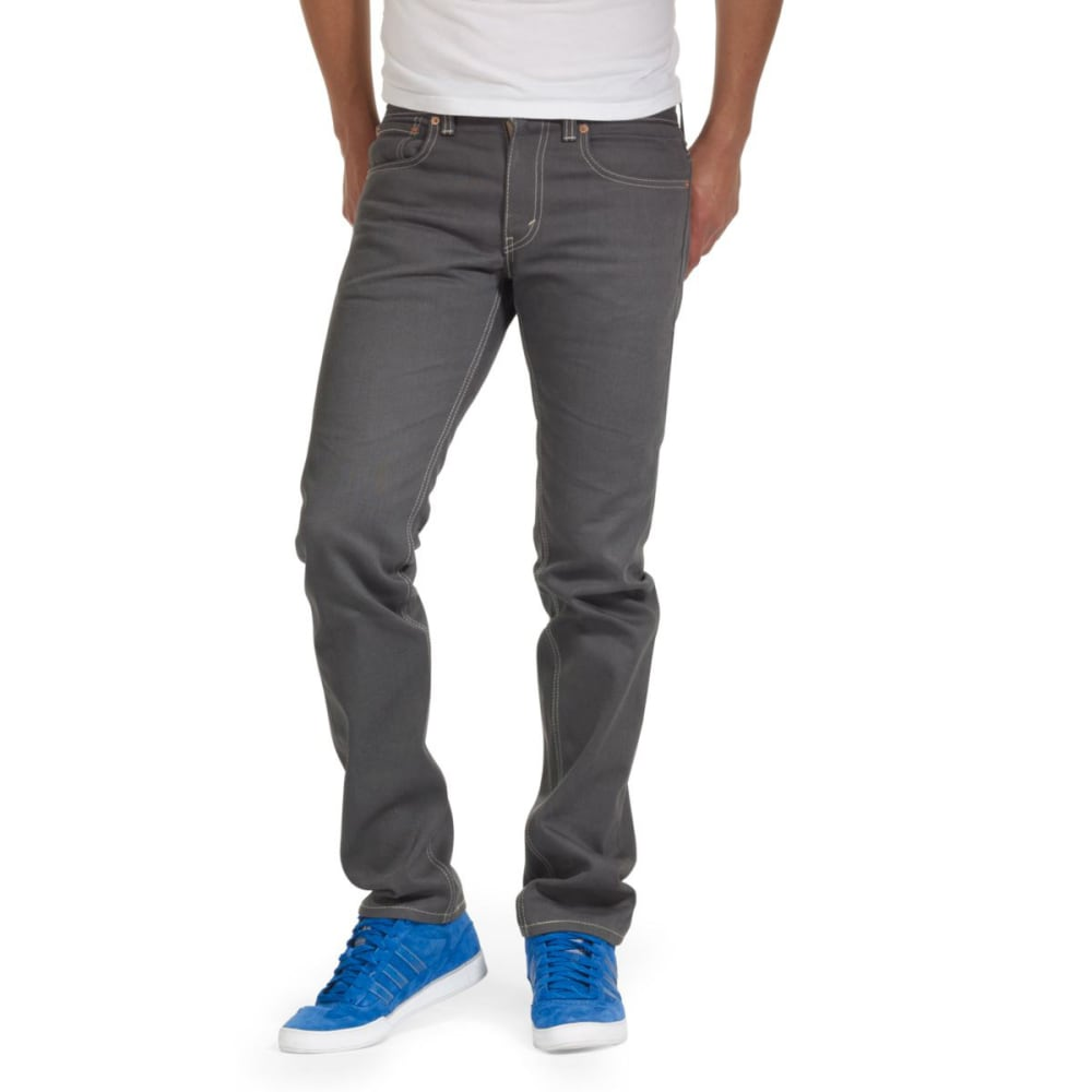 LEVI'S Men's 511 Slim Fit Jeans - RIGID GREY 0280