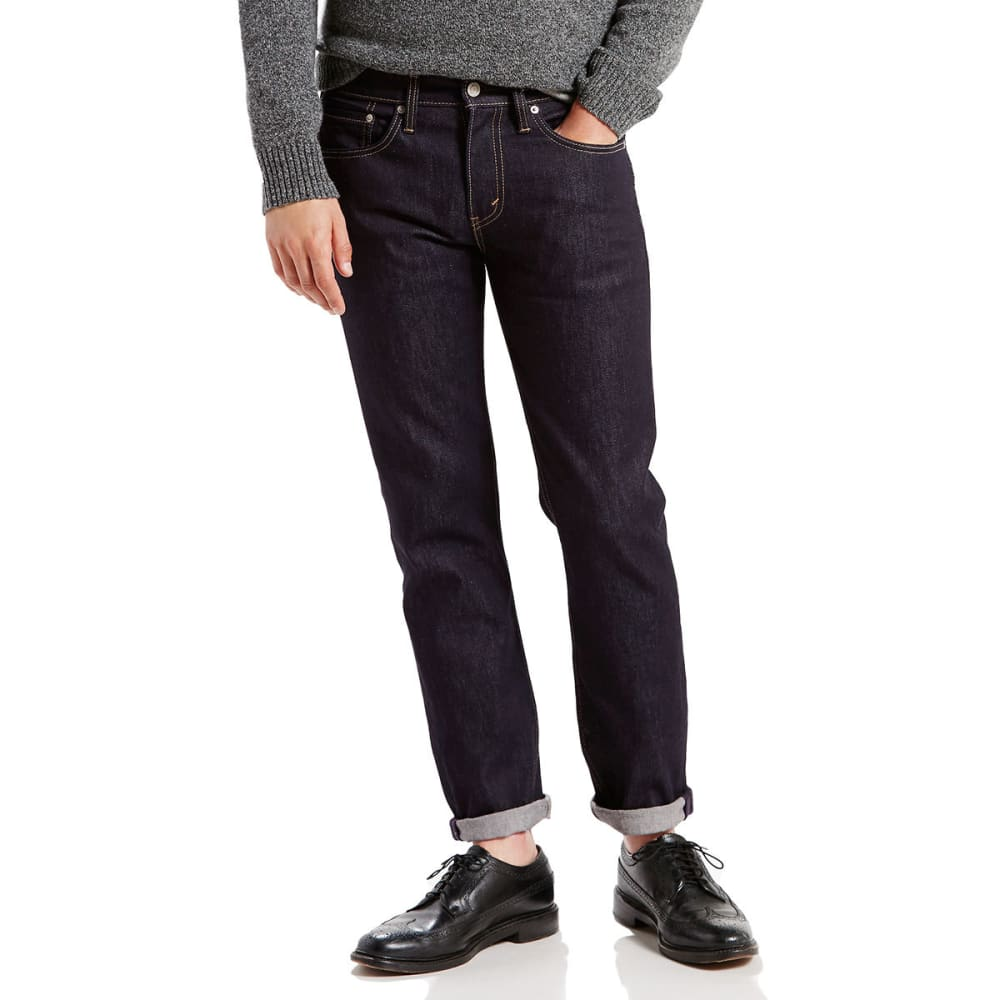 LEVI'S Men's 511 Slim Fit Jeans - DK HOLLOW 1042