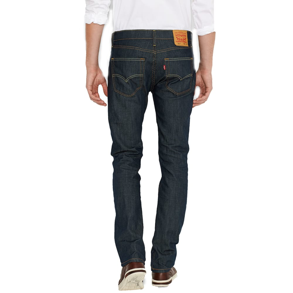 LEVI'S Men's 511 Slim Fit Jeans - RINSED PLAYA 0408