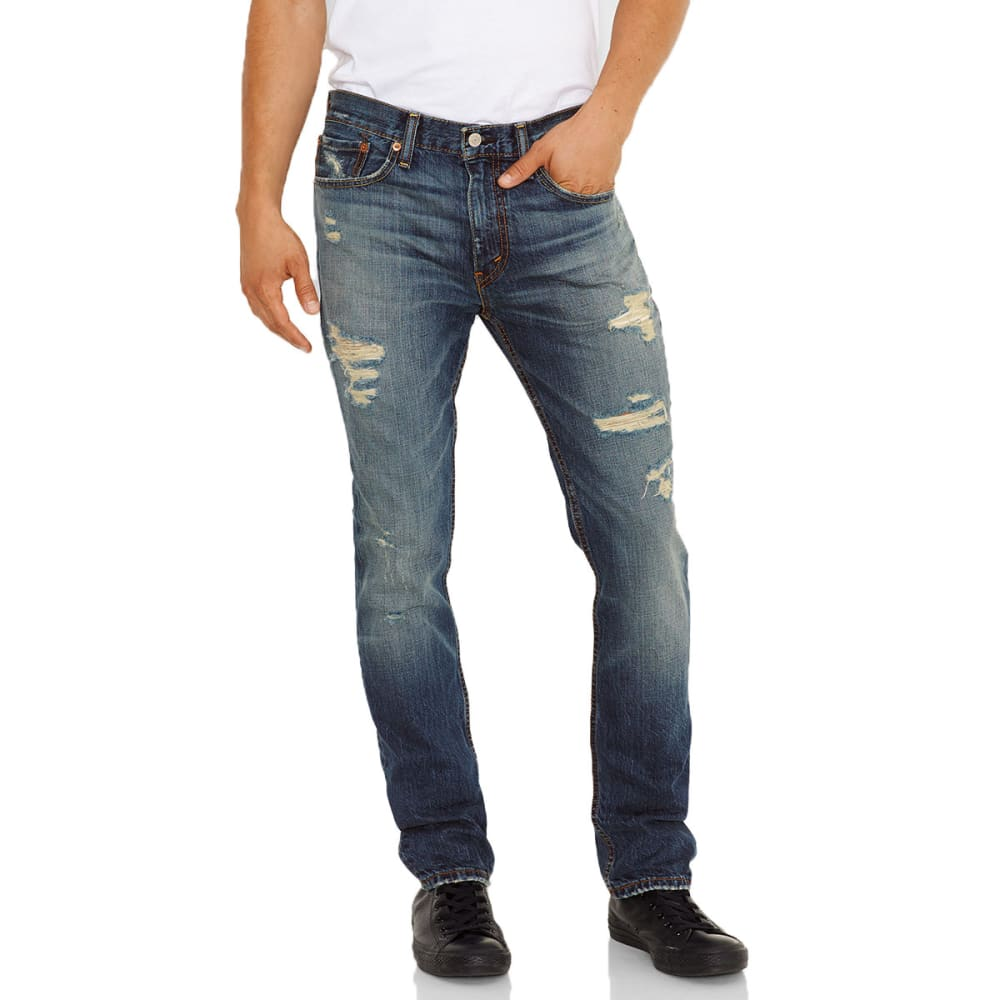 LEVI'S Men's 511 Slim Fit Jeans - BLUE BARNACLE
