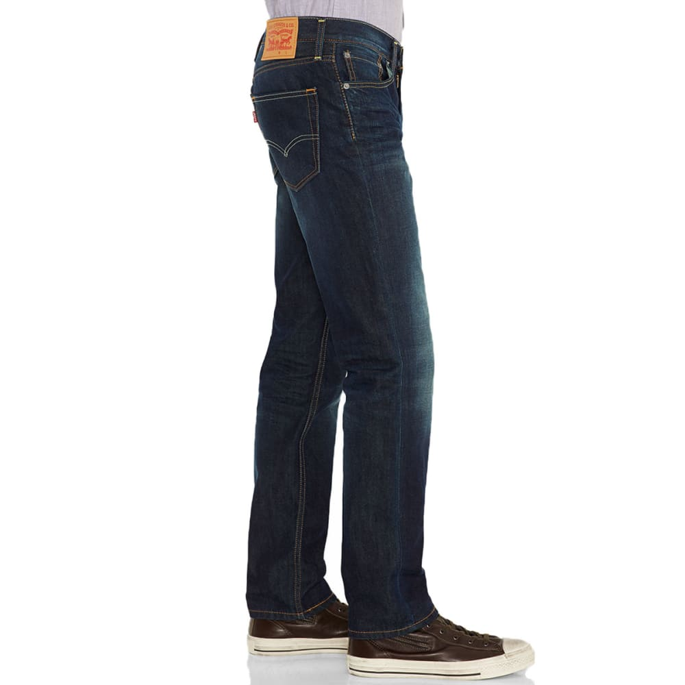 LEVI'S Men's 511™ Slim Green Splash Jeans - GREEN SPLASH