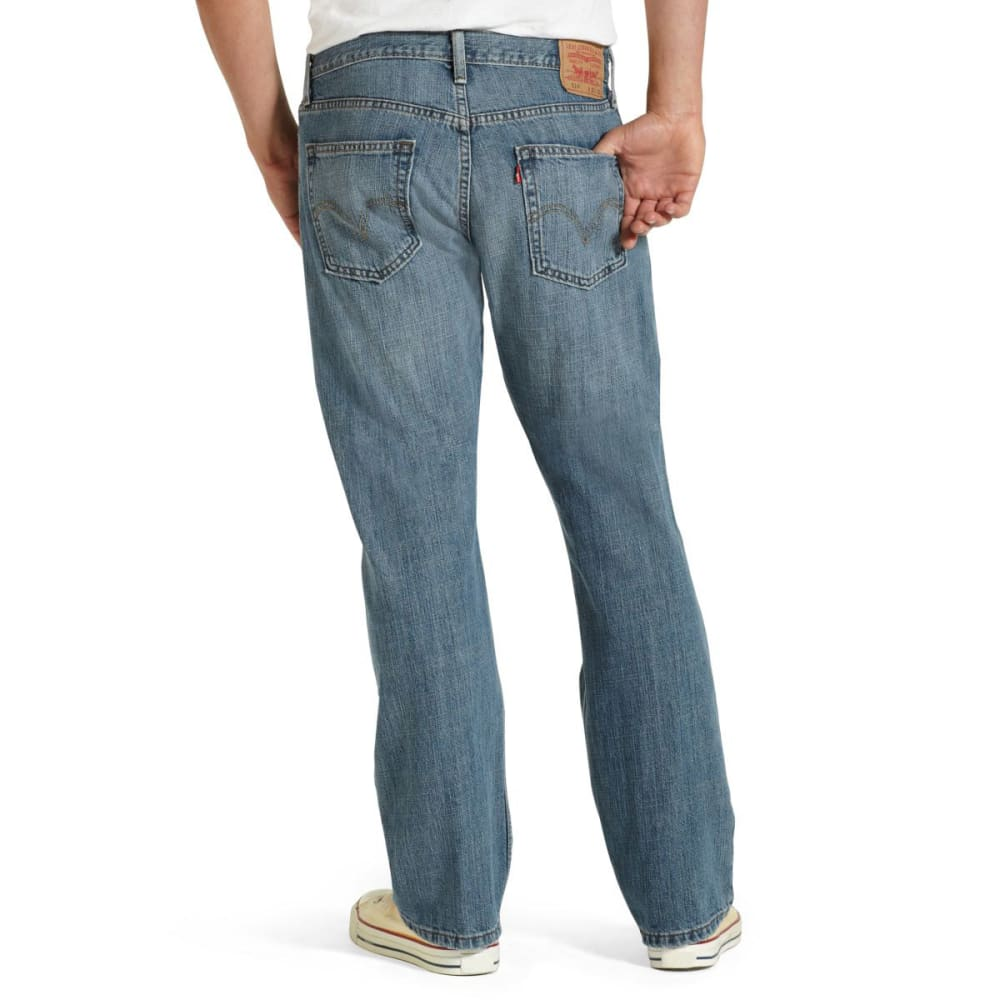 LEVI'S Men's 514 Straight Jeans - Discontinued Style - INDIGO WASH