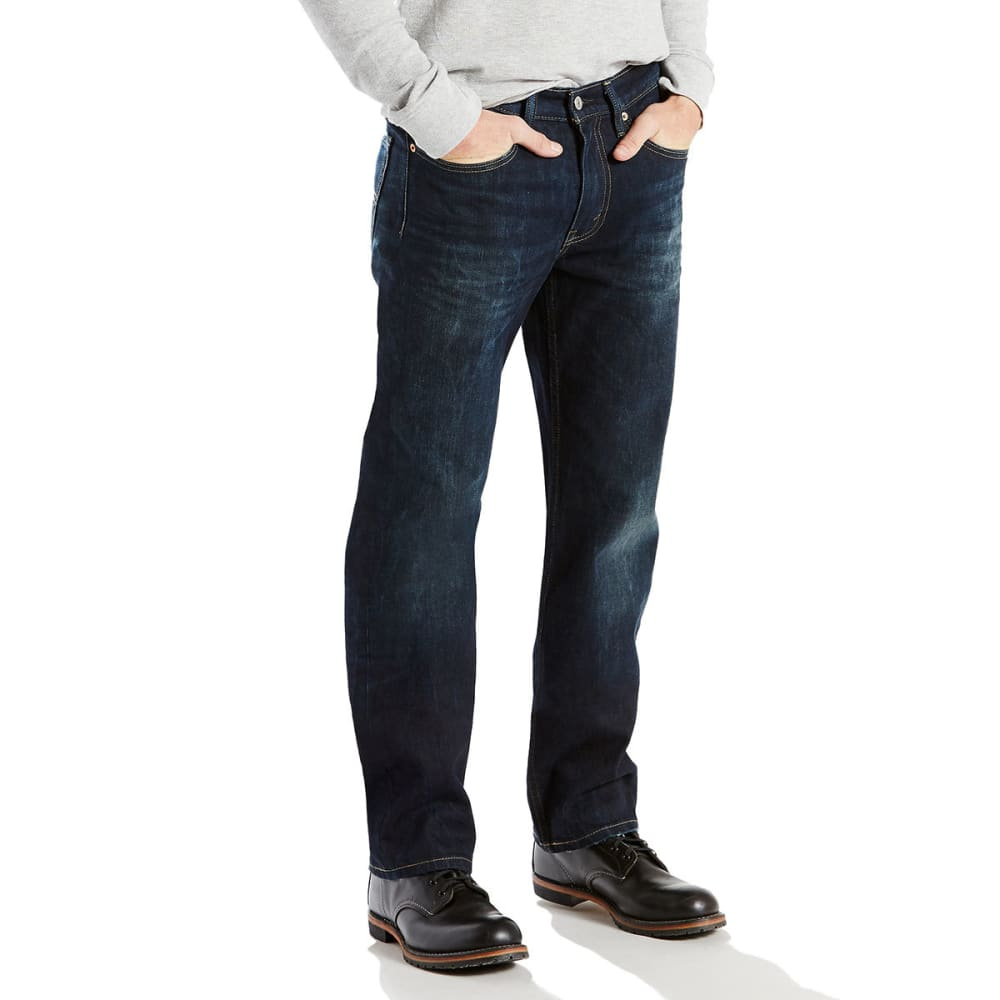 LEVI'S Men's 514 Straight Jeans - SHIP YARD 0809