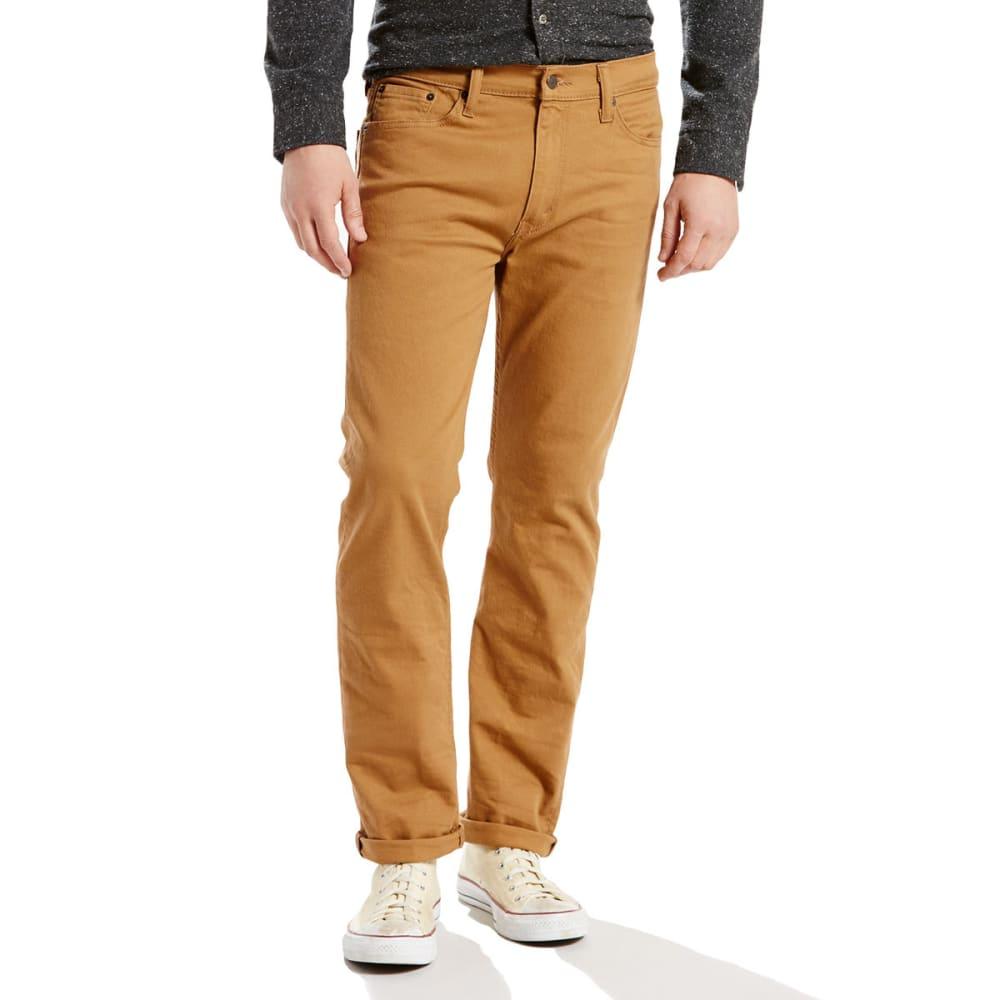 LEVI'S Men's 513 Slim Straight Fit Jeans - CARAWAY 0424