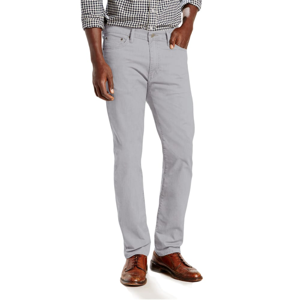LEVI'S Men's 513 Slim Straight Fit Jeans - MONUMENT GREY