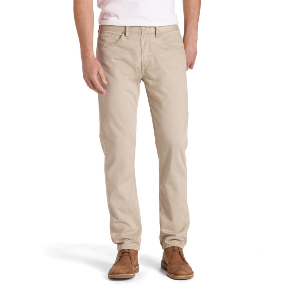 LEVI'S Men's 514 Straight Fit Twill Pants - CHINCHILLA 0407