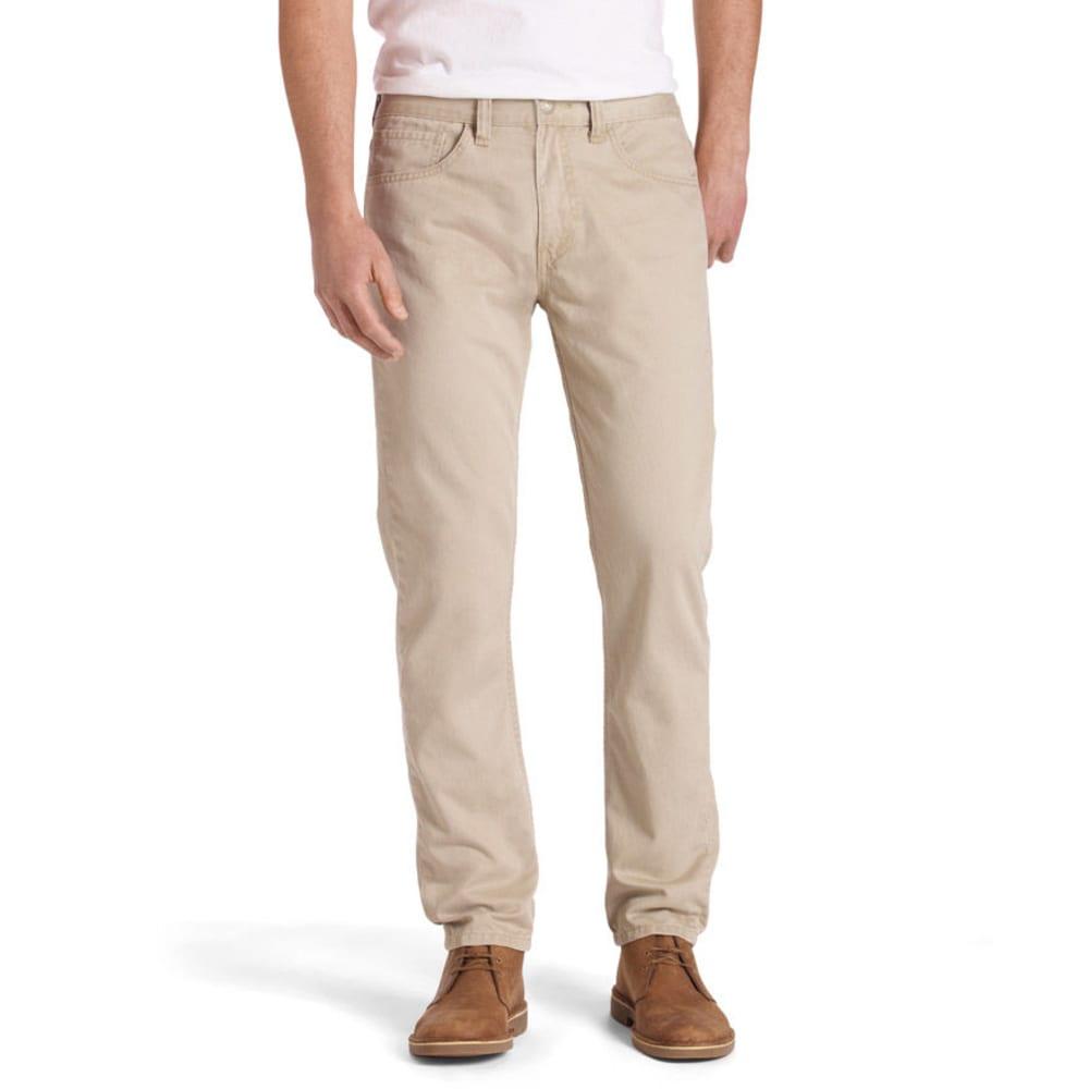 LEVI'S Men's 514 Straight Fit Twill Pants - CHINCHILLA 0407