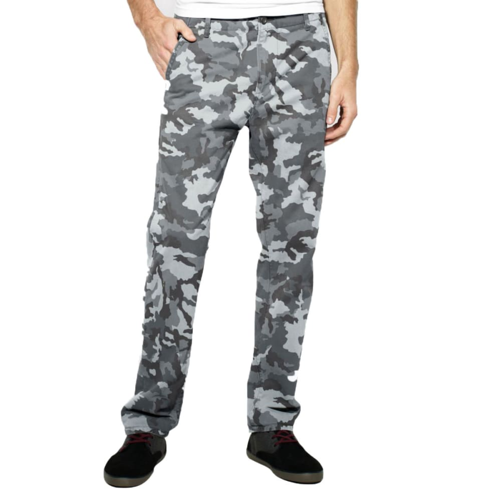 LEVI'S Men's Chino Twill Pants - Discontinued Style - GREY CAMOUFLAGE
