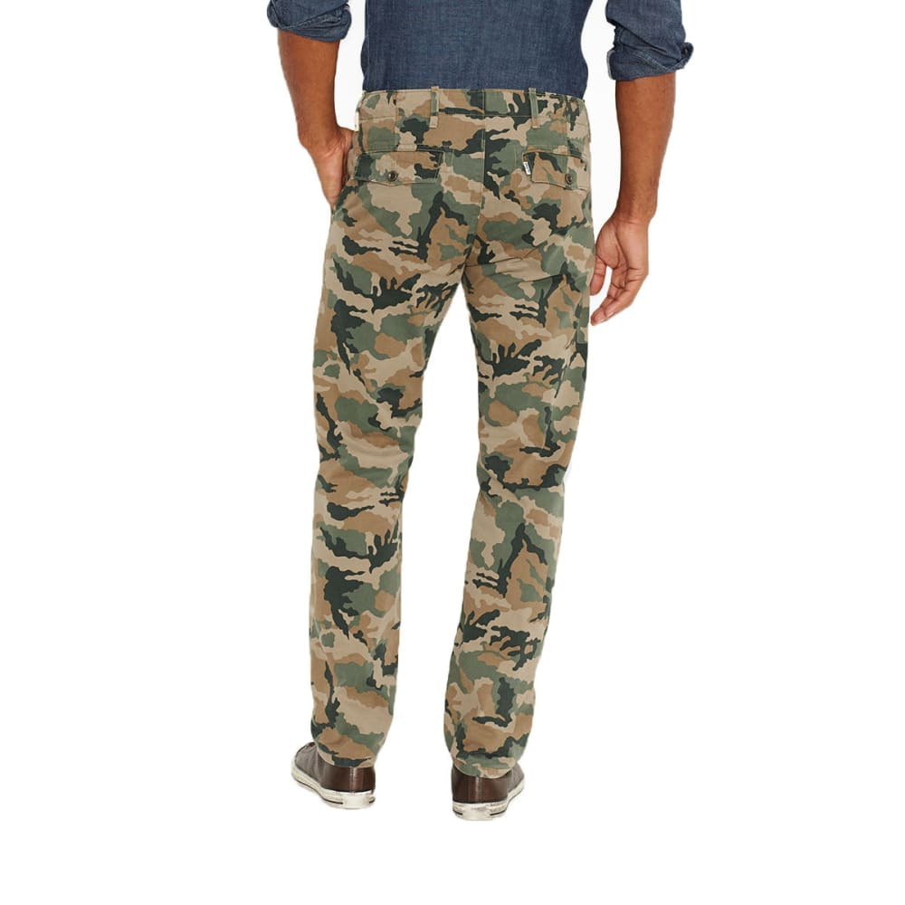 LEVI'S Men's Chino Twill Pants - Discontinued Style - ELMWOOD CAMO