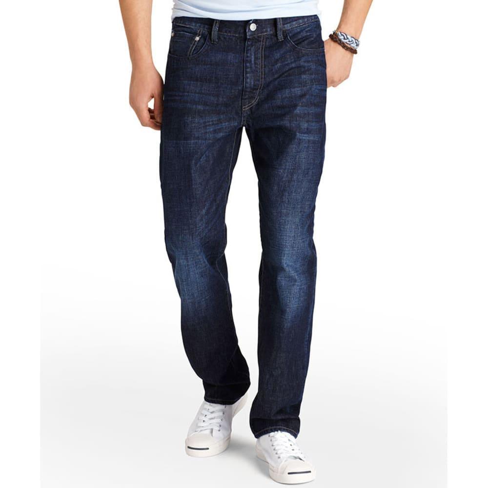 IZOD Men's Denim Regular Fit Jeans - RINSED USED