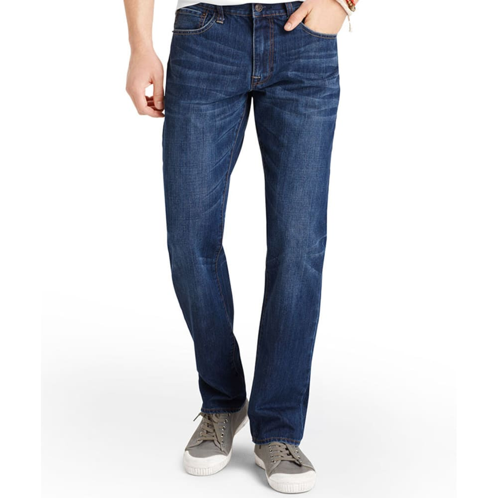 IZOD Men's Denim Straight Fit Jeans - DARK VINTAGE
