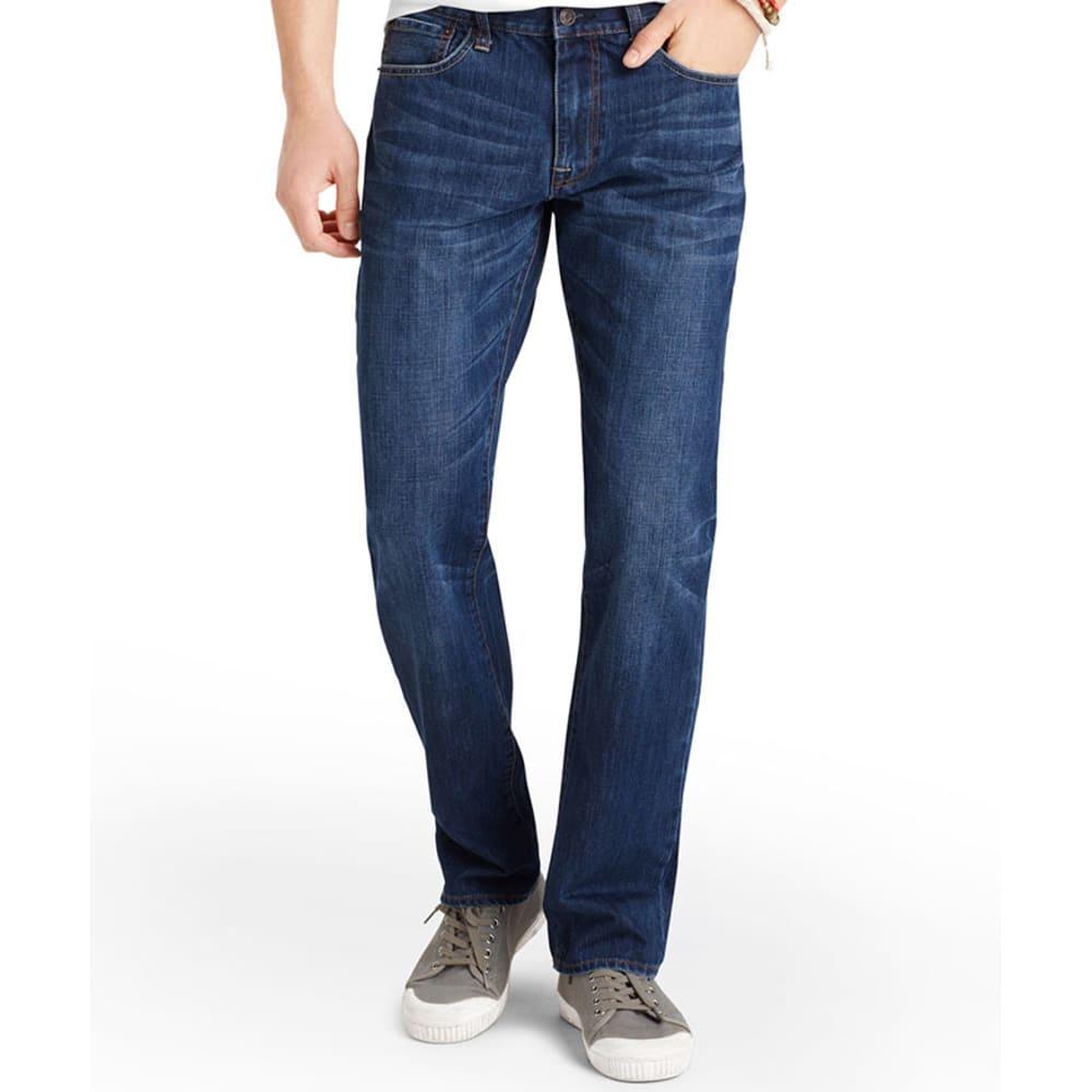 IZOD Men's Denim Straight Fit Jeans - DARK VINTAGE