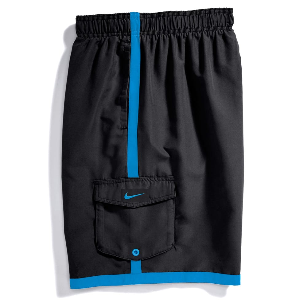 NIKE Men's Core Cargo Volley Shorts - BLACK LEATHER