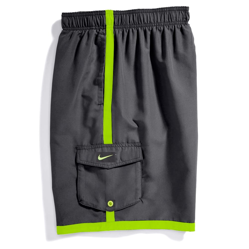 NIKE Men's Core Cargo Volley Shorts - ANTHRACITE