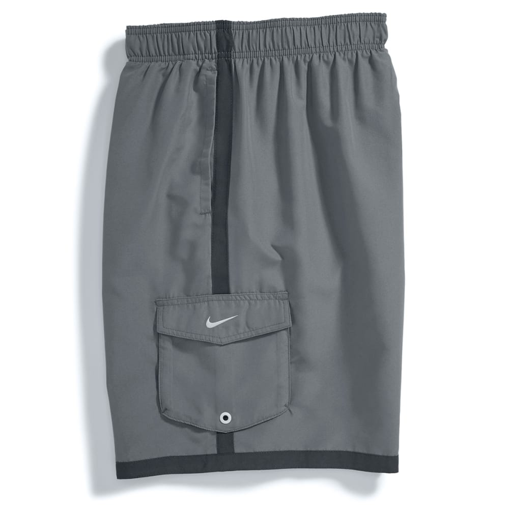 NIKE Men's Core Cargo Volley Shorts - COOL GREY