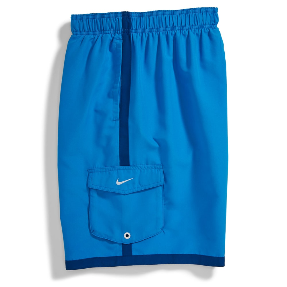 NIKE Men's Core Cargo Volley Shorts - HORIZON BLUE